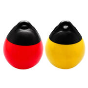 2pcs Boat Fender Ball Round Anchor Buoy Durable Bumper Dock Shield Protection