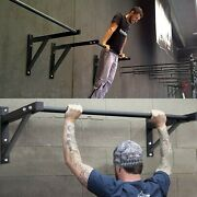 Workout Training Fitness Home Mount Gym Wall Mounted Heavy Duty Chin Pull Up Bar