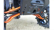 Front Forward Upper And Lower Control Arms Polaris Ranger Xp 1000 2021 Black