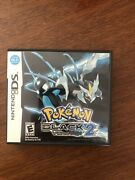 Pokandeacutemon Black Version 2 Nintendo Ds 2012 Complete With Manuals And Tested