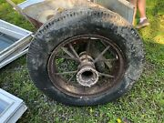 Antique Goodyear Spoke Tractor Tire 1 Only