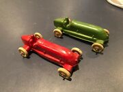 1930-40's Arcor Rubber Indy 500 Racer With Driver Nm To Mint Choice Of 1