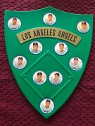 1962 Salada Coins Los Angeles Angels Team Set Complete With Shield