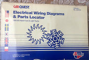 Carquest Import Ac Systems Electrical Wiring Diagrams And Parts Locator 1982-90