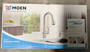Moen 87014ewsrs Stainless Steel Kitchen Faucet With Motion Sense Wave
