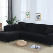 Elastic Sofa Covers For Sectional Corner Couch Cover L Shape Need Buy 2pcs Cover