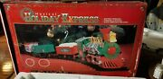 Vintage Goldlok Musical Holiday Express Battery Operated 1997 Train Set