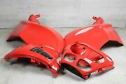 Set Fairing Cover Side Tank Red Bmw R 1100 S 259 R2s Abs 98-06