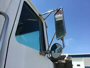 1989 Volvo Wca Right Door Mirror   Material Stainless