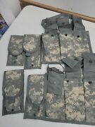 Us Army Acu Molle Ii Double Mag 4 And 6 Mag Bandoleer 2 Lot  033