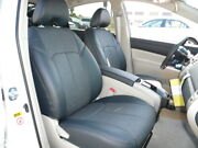2010-2015 Toyota Prius Clazzio Pvc Leatherette Black Front And Rear Seat Covers