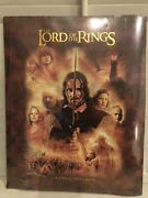 The Lord Of The Rings A 12 Month 2005 Calendar, Factory Sealed New Line Cinema
