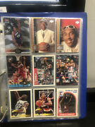 Basketball Card Collection Withkobe, Kidd, Ray Allen Rookie W/tons Jordan Cards