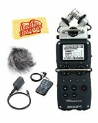 Zoom H5 Handy Recorder Bundle With Aph-5 Accessory Pack Polishing Cloth