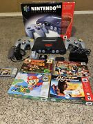 Nintendo 64 5 Game Bundle And More Tested, Working, Great Condition.