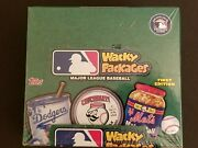 Wacky Packages Major League Baseball Trading Card Factory Sealed Box Topps 2016