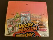 Wacky Packages Factory Sealed Trading Sticker Box Topps 2013