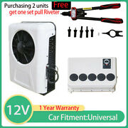 12v Electric Air Conditioner For Rv Portable Truck Air Conditioner 960w