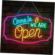 Neon Sign Led Signs Neon Lights, Led Sign, 3d Art Decorative Neon Signs Open