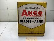 Vintage Anco By Anderson Windshield Wiper Blade And Arm Display Cabinet