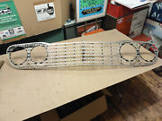 Nos 60 1960 Ford Galaxie 500 Fairlane Full Size Car Grille Anodized Aluminum