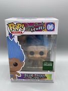 Funko Pop Good Luck Troll Blue Troll 06 Barnes And Noble Exclusive