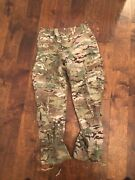 U.s. Army Multicam Pants Oef-cp Flame Resistant Size Med-short