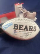 Autograph Mike Ditka Chicago Bears Signature Series Football Nfl Collectible