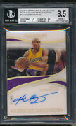 2018 Immaculate Collection Marks Of Greatness Auto Kobe Bryant 3/99 Bgs 8.5