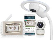 Motorola Mbp944 Halo + Baby Video Monitor With Application Wired Hubble Wifi
