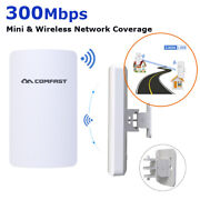 2pces Cpe Outdoor Wireless-n Repeaterandhigh Power 300mbps Wifi Range Extender