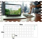 1 X Russian Letter Keyboard Sticker Protector Cover For Notebook M4k1