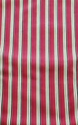 Longaberger Fabric Holiday Stripe 5 Yard Piece New In Original Package.