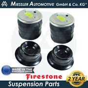 Firestone Rear Suspension Air Spring Bags 504035755 For Iveco Daily Mk V 2011-14