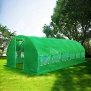Quictent 2 Doors 20and039x10and039x7and039 Large Walk-in Greenhouse Outdoor Gardening Hot House