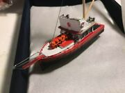 1/87 Ho Scale Orca Fishing Boat Painted Accesorized