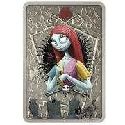 Sally Nightmare Before Christmas 2021 Niue 1oz Silver Coin 2 Sold Out @ Nz Mint