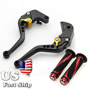 For Dorsoduro 900 17-19 Shiver / Gt 07-16 Short Brake Clutch Levers W/hand Grips