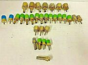 Swagelok Brass Port Connectors And Tube Adapters Lot Of 31
