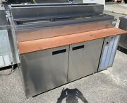 """Delfield 60"""" Refrigerated Pizza Prep Table"""