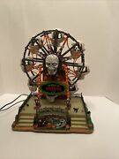 Lemax Spooky Town The Wheel Of Horror 2010 04162 Retired See Video