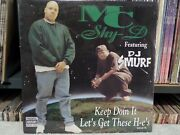 Mc Shy D Feat. Dj Smurf And039keep Doin It And039 And03996 Benz / Sealed