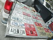 Apportioned License Plates Fl.ohio,tennesse,maine Lot Of 40 Man Cave Expired Est