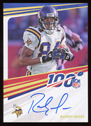 Randy Moss 2020 Chronicles Nfl 100 On Card Autograph Auto - Extreme Ssp Vikings