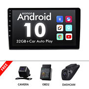 Cam+obd+dvr+single 1din 10.1 Touch Screen Android 10 Car Stereo Gps Navi Radio