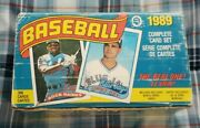 Box Of 1989 Vintage O-pee-chee Baseball Cards Collectors 327 Cards