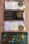 1999 - 2011 Commemorative Coins In Special Folders. Unc
