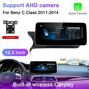 For Mercedes Benz C Class 2011-2014 12.3 Android Car Multimedia Gps Auto Navi