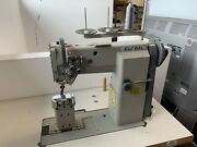 Global Twin Needle Post Bed Sewing Machine