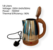 Electric Cordless Light-weight Kettle Travel Jug Water Heater Boiler 1500w 1.8l